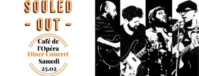 Dîner Concert -SOULED OUT-